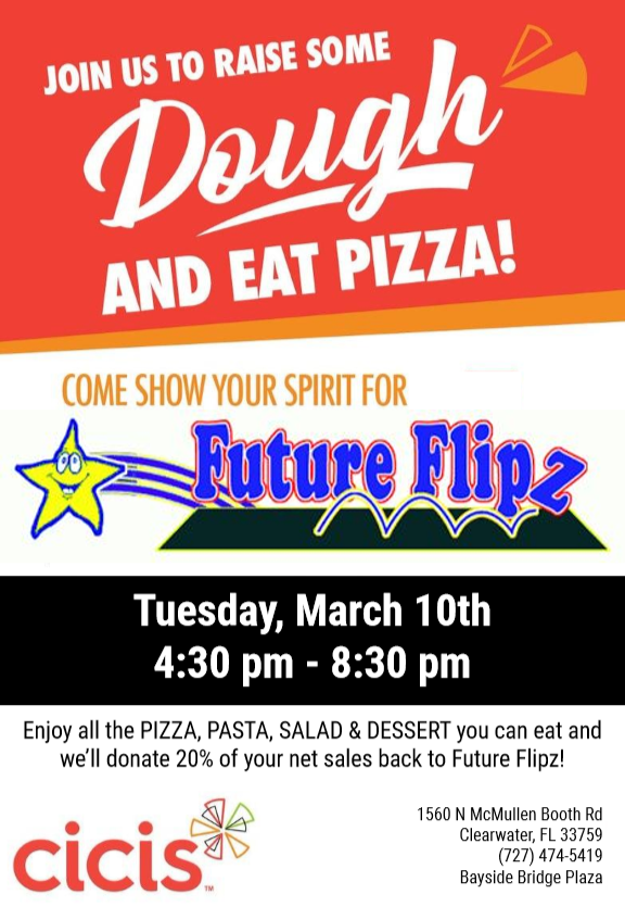 Cici's Pizza Fundraiser @ Cici's Pizza in Clearwater